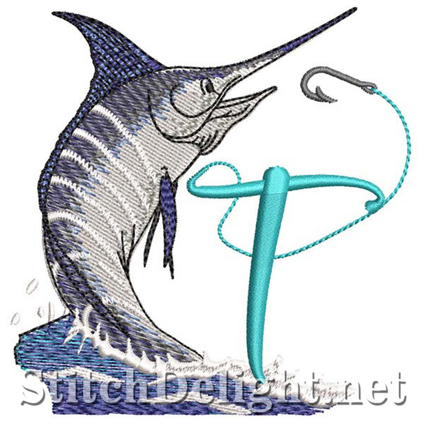 sds1270 Fishing Font T