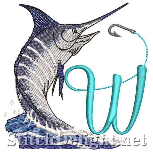 sds1270 Fishing Font W
