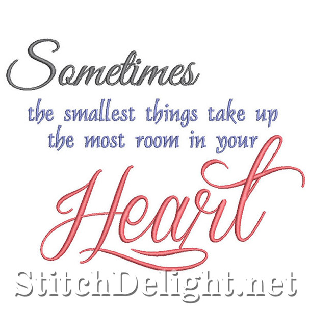 SDS1285 Sometimes the smallest Quote