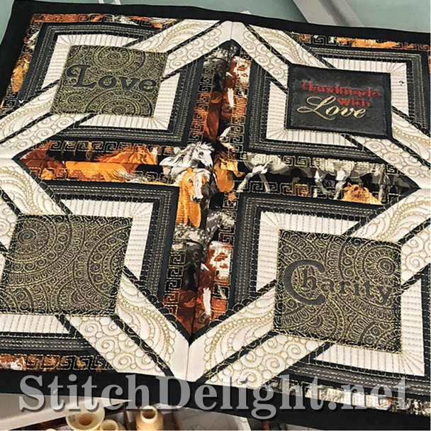 SDS1358 QuiltSquare Blank