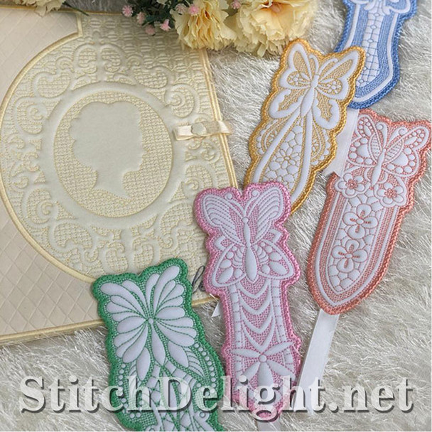 SDS1431 Quilted Bookmarks
