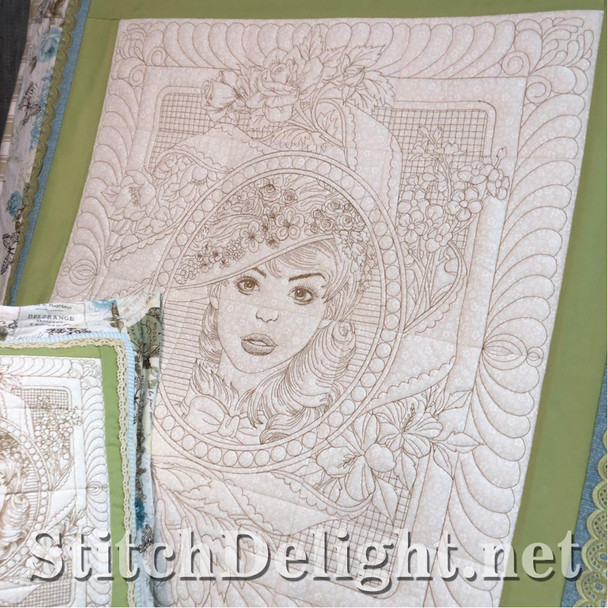SDS1500 Victorian Lady