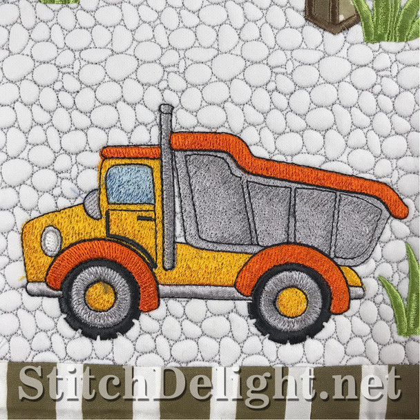 SD1482 Tip Truck_Driving