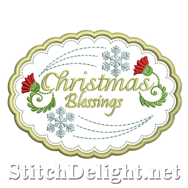 SD1489 Christmas Coaster 3