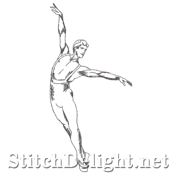 SD1325 Male Ballet Dancer