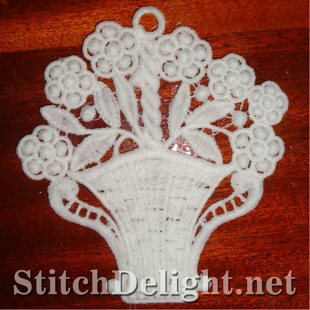 SD0925 Freestanding Lace Basket
