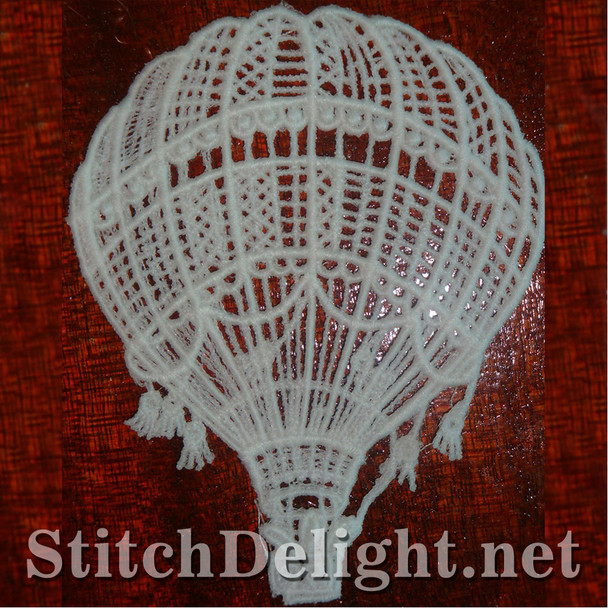 SD0887 Freestanding Lace Hot Air Balloon