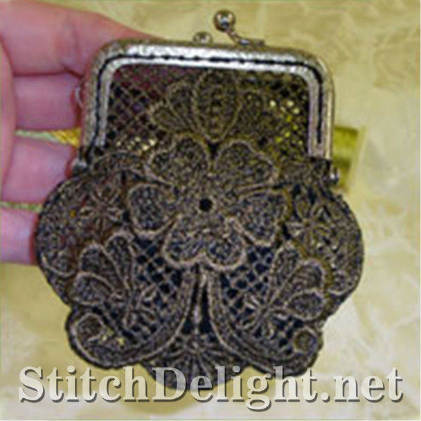 SD0722 Vintage Lace Coin Purse