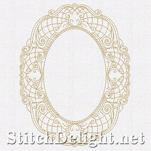 SD0662 Lacy Frames