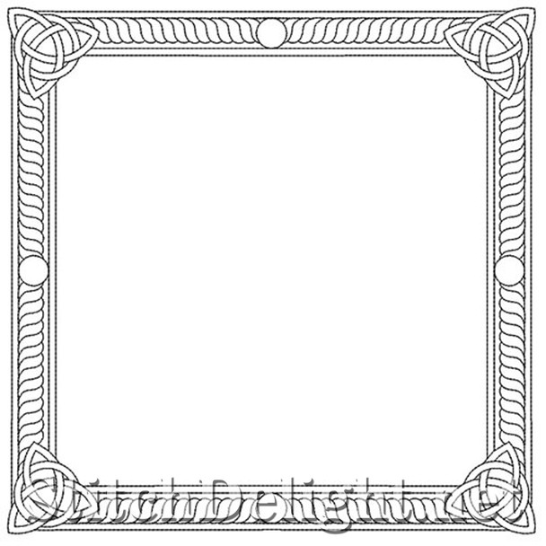 SDS4019 Celtic Frame