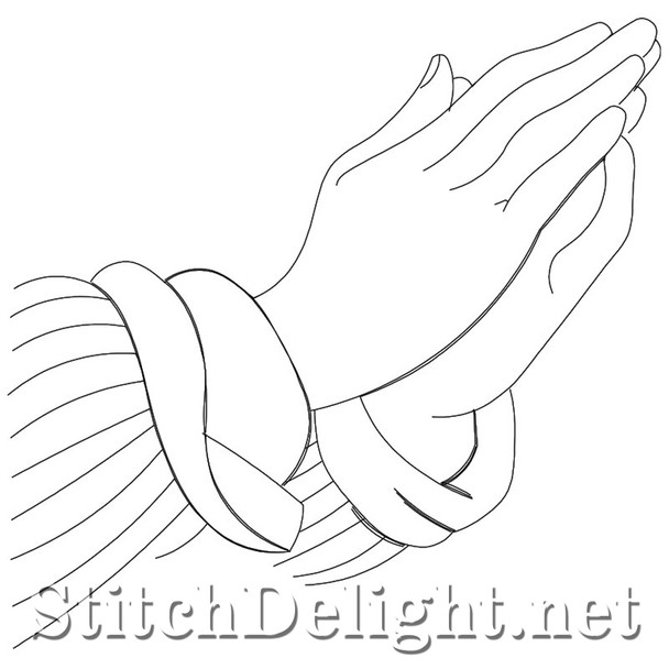 SDQL0119 Praying Hands