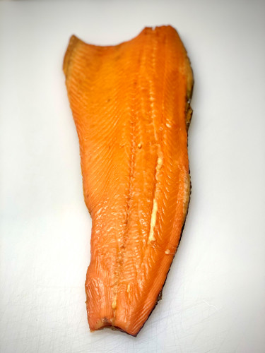 Golden roast salmon (whole side)