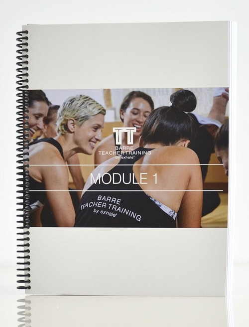 Barre Certification Training - Module 1 Manual