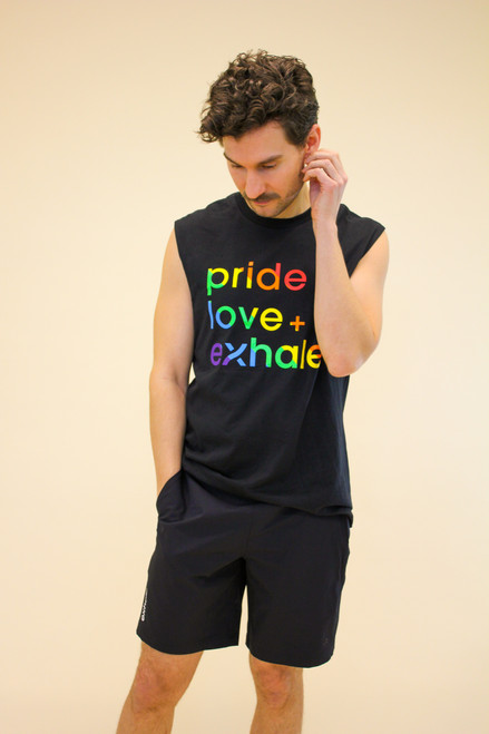 Rainbow Muscle Tee - PRIDE COLLECTION