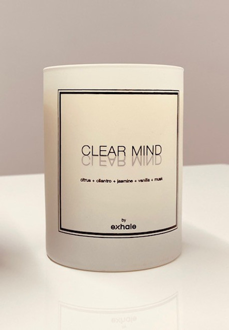 Exhale Candle - Clear Mind