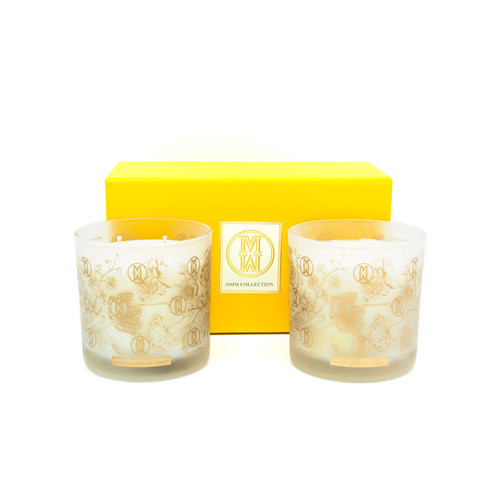 OMM Aroma Therapy Candles Set of 2 – Garden Jewel