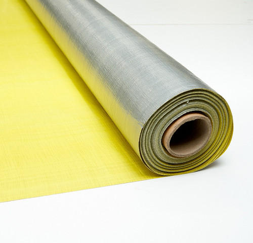 Yellow/Silver Tarp Material - Cheap Tarp Material - Fast Delivery