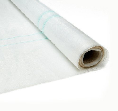 100% Waterproof Cloudy Clear Poly Fabric - 2.05m or 3.66m Wide