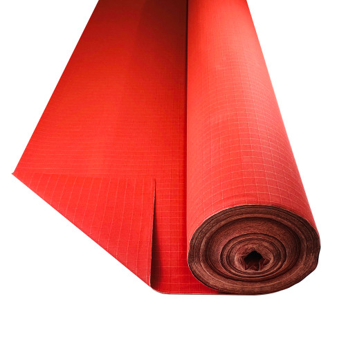 Bullduck Tear Stop red Canvas - Buy by the Metre. HIGH QUALITY TEAR PROOF RED CANVAS. AUSTRALIA MADE BRIGHT RED CANVAS HIGH QUALITY