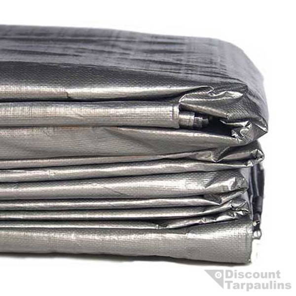 tarp heavy duty silver black - Best price in Australia