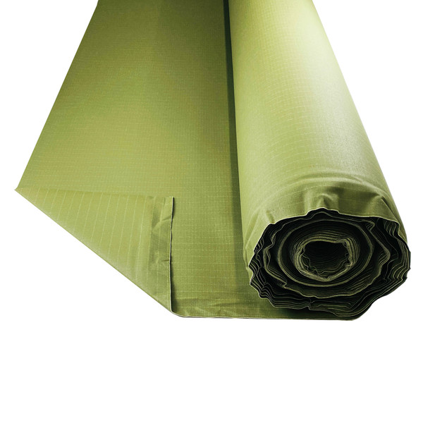 Bullduck Tear Stop Dark Green Canvas - Buy by the Metre. HIGH QUALITY TEAR PROOF ARMY GREEN CANVAS. AUSTRALIA MADE DARK GREEN OLIVE CANVAS HIGH QUALITY