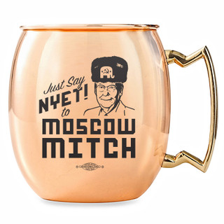 <b>The Kentucky Democratic Party is selling Moscow Mitch merchandise and the items are selling like crazy</b>