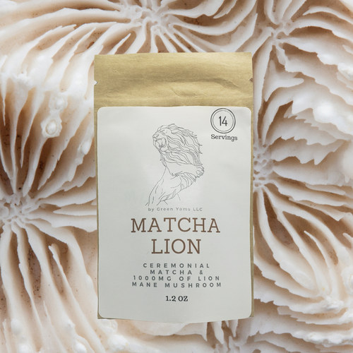 Lion's Mane mushroom & Matcha green tea is delicious and healthy. Our  Matcha powder & Lion's mane mushrooms recipe is quick and easy to use. Lion's mane mushrooms benefits include cognitive and immune system benefits. If you are not allergic to mushrooms there are no side effects of lion's mane mushrooms. Where you buy lion's mane mushrooms Matters!
