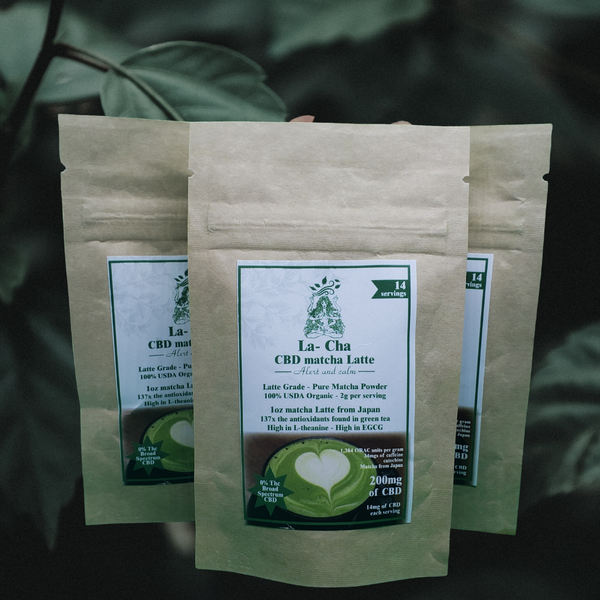 200mg CBD Matcha front package