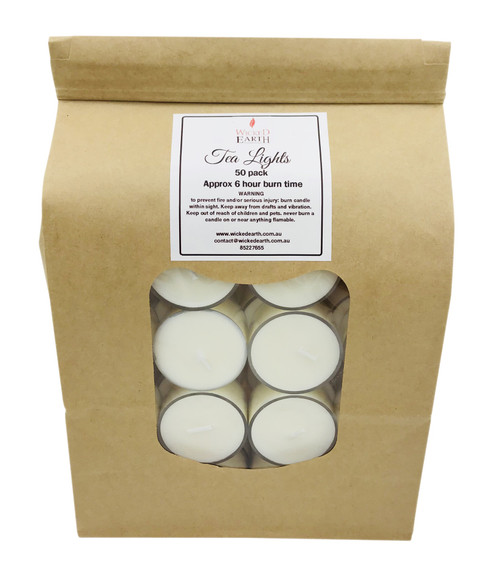 Pack of 50 Tea Lights