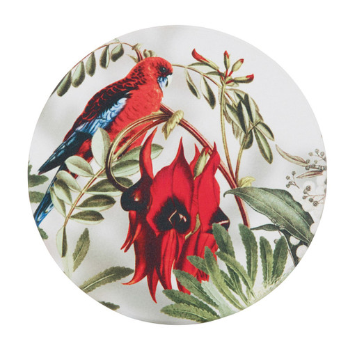 Desert Pea Candle Plate
