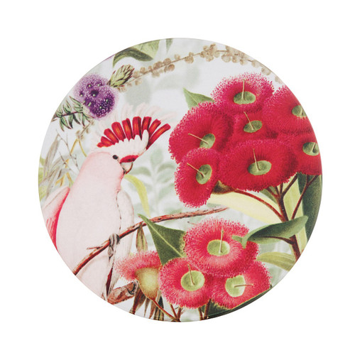 Flowering Gum Candle Plate