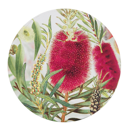 Bottle Brush Candle Plate