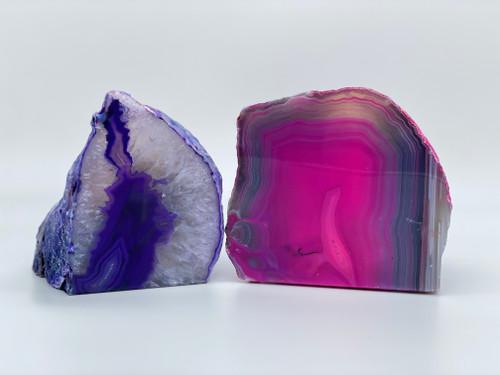 Agate Crystal Tea Light Holder