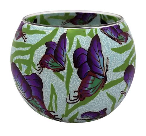 Chasing Butterflies Glowing Tea Light Holder