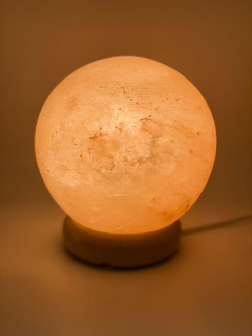 Sphere Crafted Himalayan Salt Lamp
