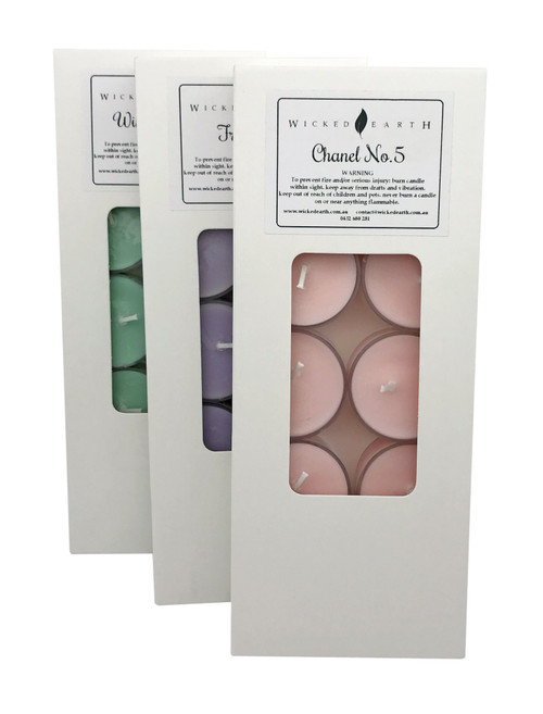 Scented Regular Tea Lights - Pack of 10 x3