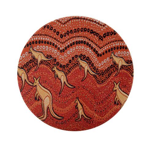 Kangaroo Candle Plate