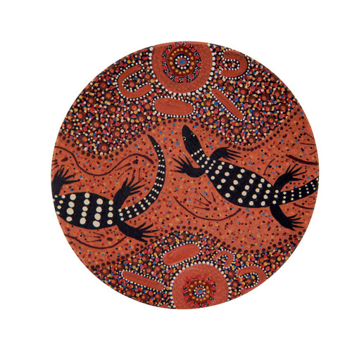 Perentie Candle Plate