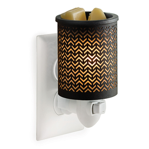 Chevron Plug In Electric Melt Warmer