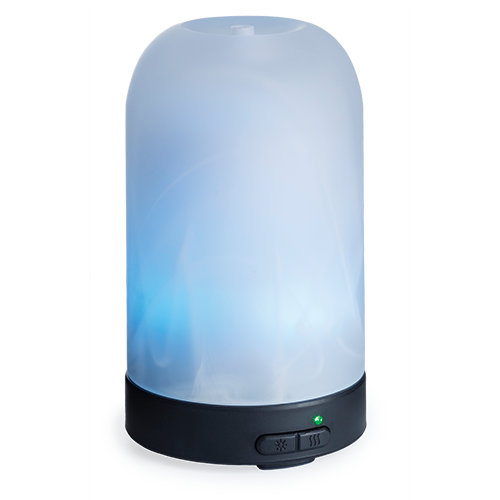 Frosted Glass Ultrasonic Aroma Diffuser Pack