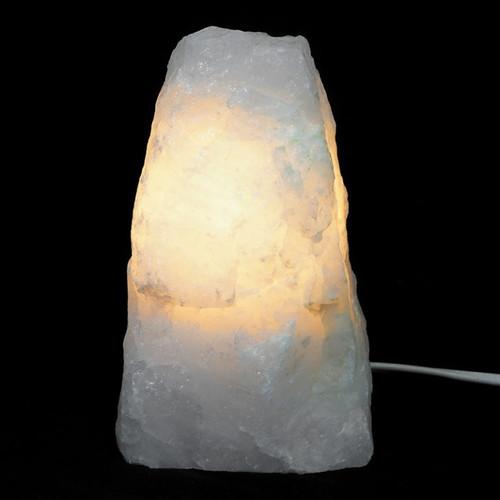 Clear Quartz Crystal Lamp