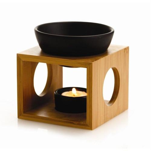 Bamboo Melt Burner - Black