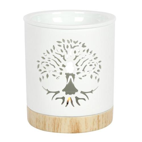 Ceramic Melt Burner - Tree of Life