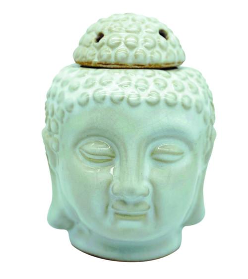 Buddha Head Melt Burner - White