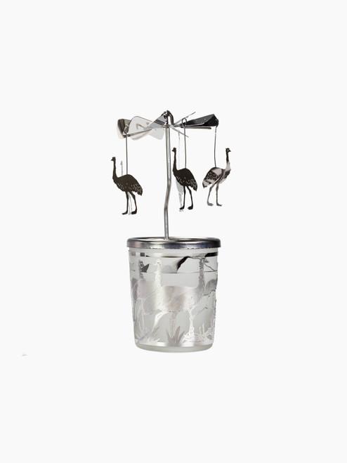 Emu Carousel Tea Light Holder