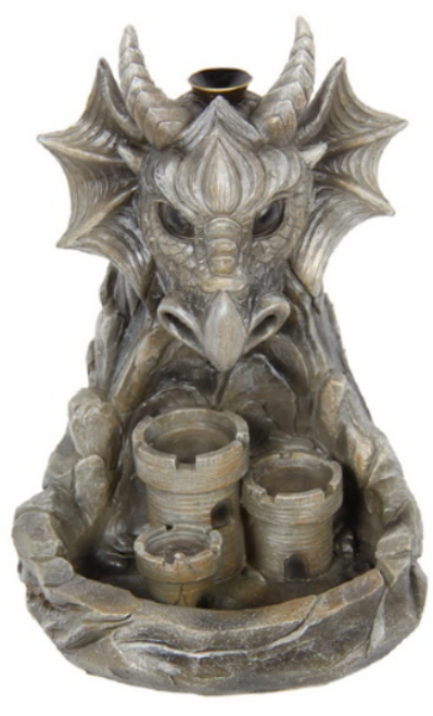 Snorting Dragon Backflow Incense Burner