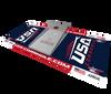 USA Cornhole Launch Pad - Cornhole Tossing Mat