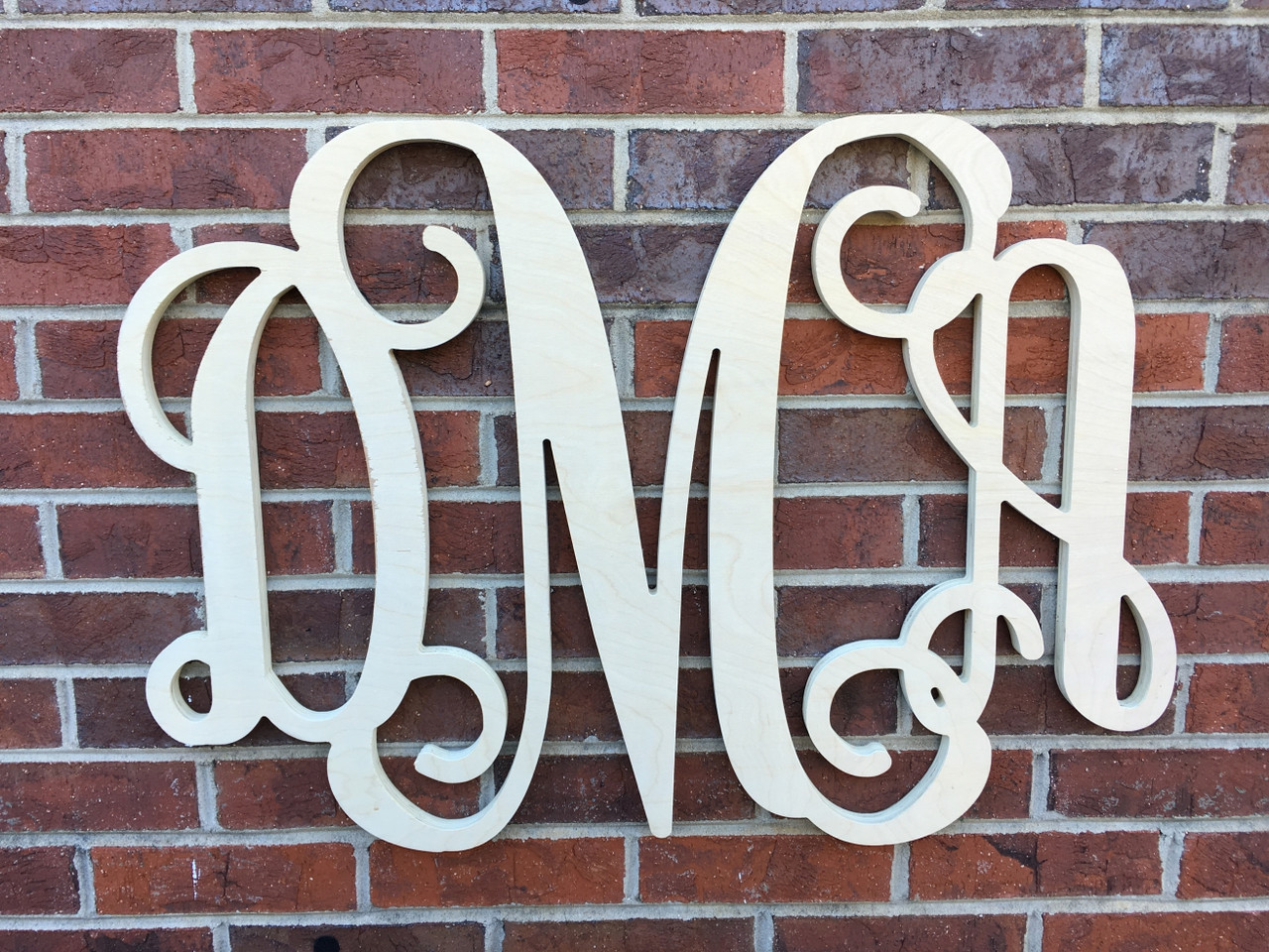 Wooden Monograms and Signs