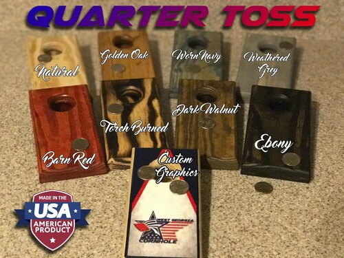 Custom Quarter Toss Games