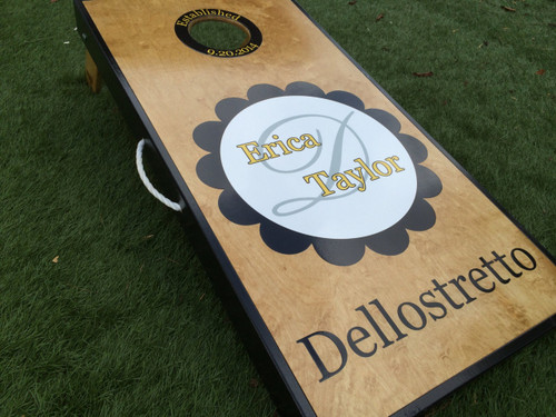 Wedding Cornhole Board Set
